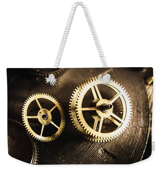 Gears Of Automation Weekender Tote Bag