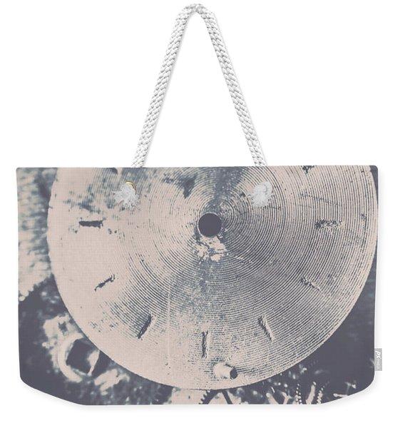 Gears Of Old Industry Weekender Tote Bag