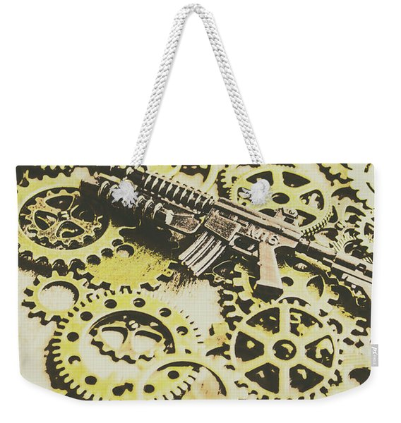 Gears Of War Weekender Tote Bag