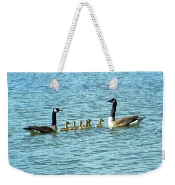 Geese Proud Parents Weekender Tote Bag