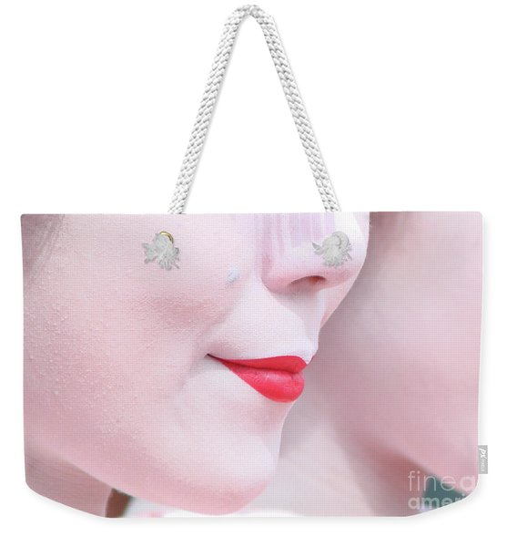 Geisha Smile Weekender Tote Bag