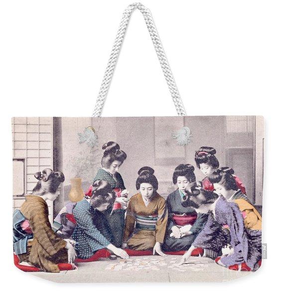 Geishas Weekender Tote Bag