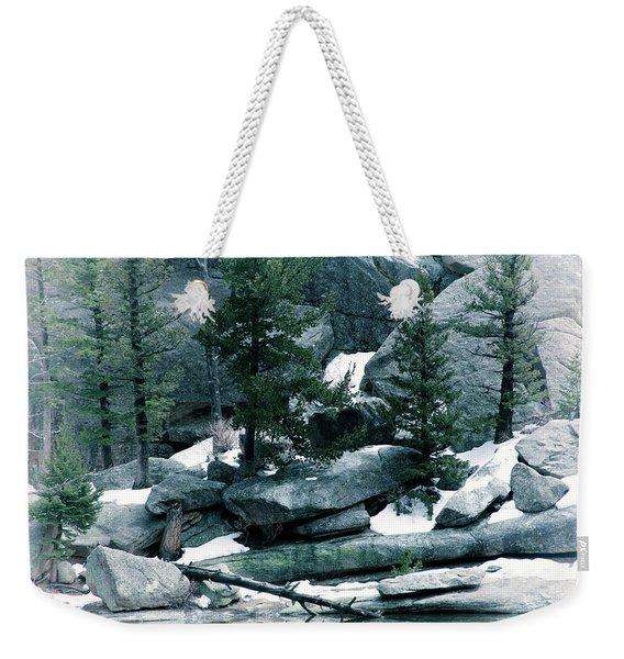 Gem Lake Weekender Tote Bag