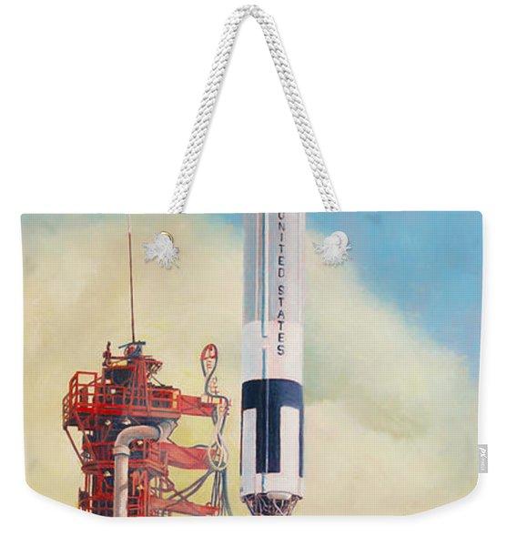 Gemini-titan Launch Weekender Tote Bag