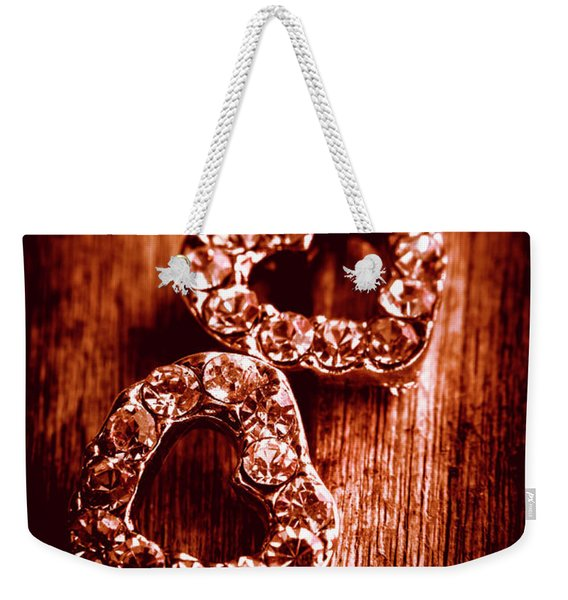 Gems Of Fashionable Romance Weekender Tote Bag