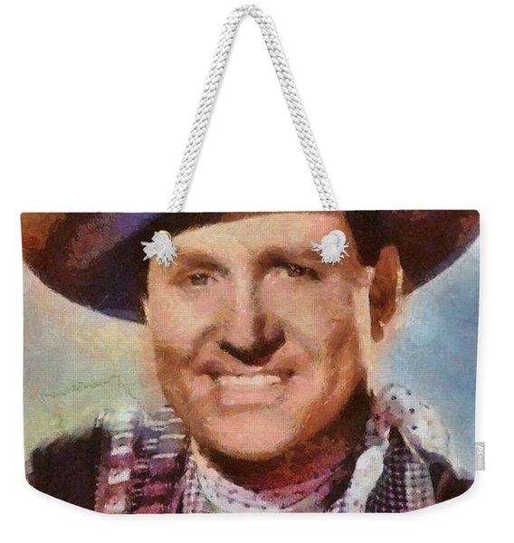 Gene Autry, Vintage Hollywood Western Legend Weekender Tote Bag