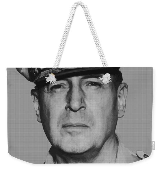 General Douglas Macarthur Weekender Tote Bag