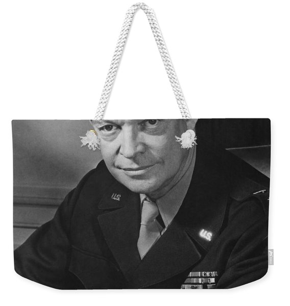 General Dwight Eisenhower Weekender Tote Bag