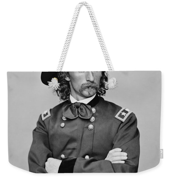 General George Armstrong Custer Weekender Tote Bag
