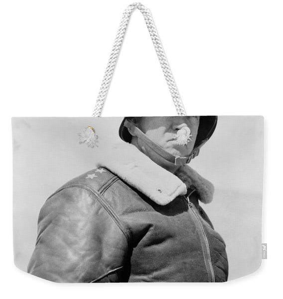 General George S. Patton Weekender Tote Bag