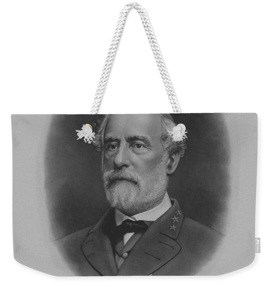 General Robert E. Lee Print Weekender Tote Bag