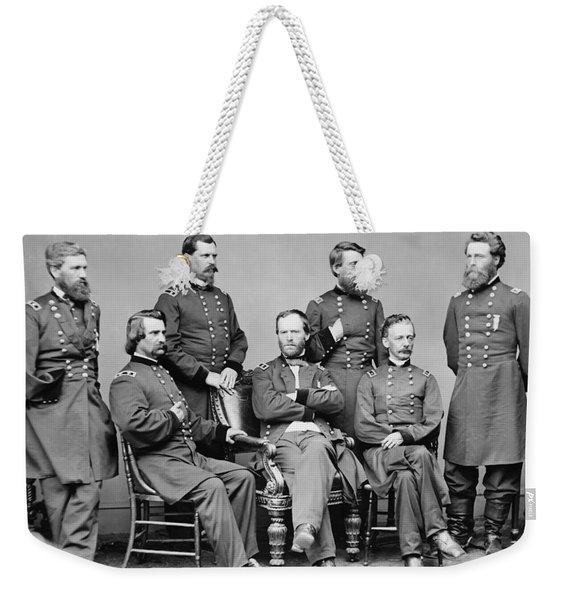 General Sherman And His Staff  Weekender Tote Bag