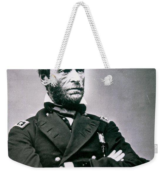 General William Tecumseh Sherman Weekender Tote Bag