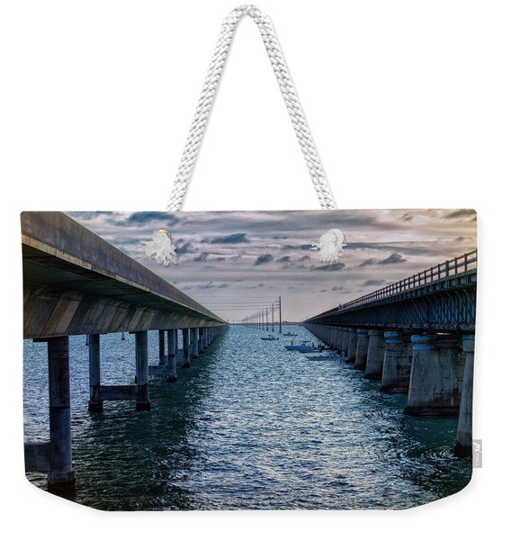 Generations Of Bridges Weekender Tote Bag