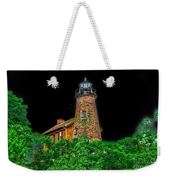 Genesee Lighthouse Weekender Tote Bag