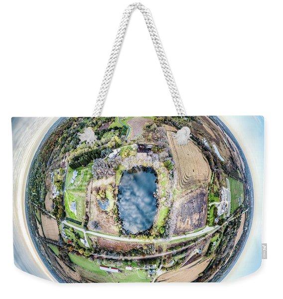 Genesee Pond Little Planet Weekender Tote Bag