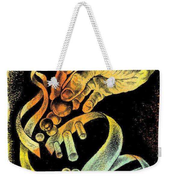 Genetic Engineering Weekender Tote Bag