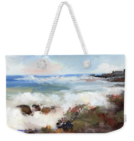 Gentle Breakers Weekender Tote Bag