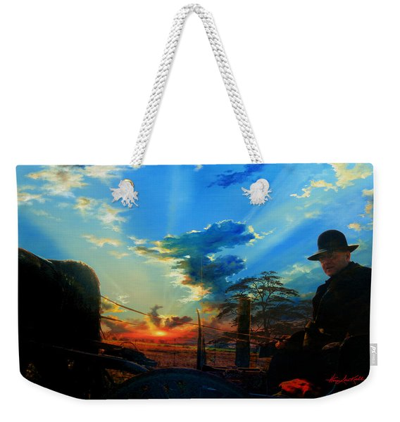 Gentle Days Of Simple Ways Weekender Tote Bag