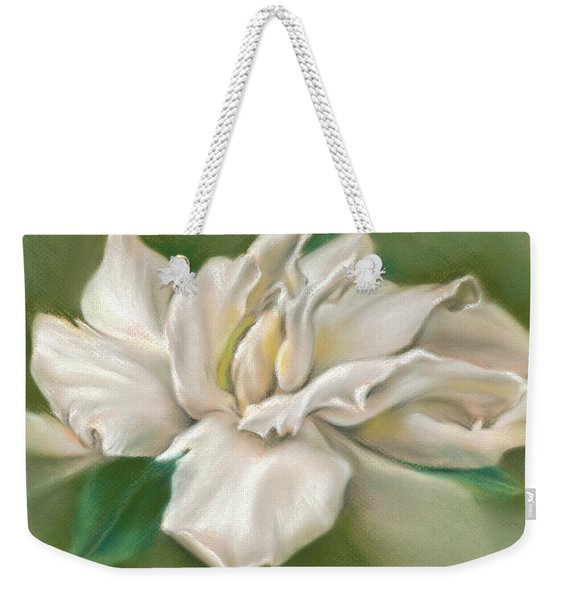 Gentle Gardenia Weekender Tote Bag