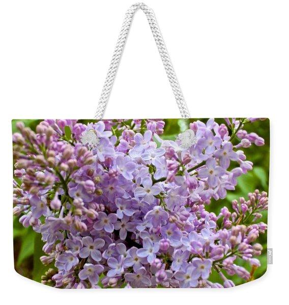 Gentle Purples Weekender Tote Bag