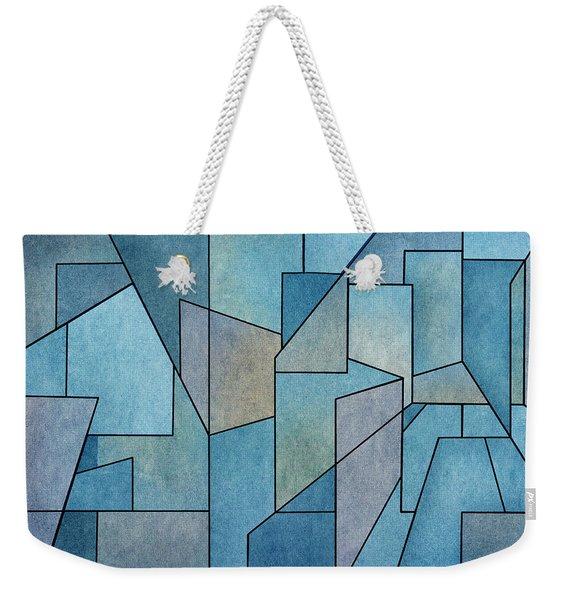 Geometric Abstraction IIi Weekender Tote Bag