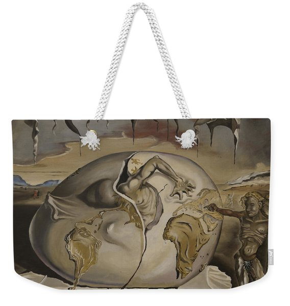 Dali's Geopolitical Child Weekender Tote Bag