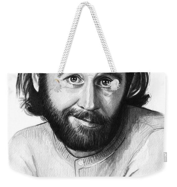 George Carlin Portrait Weekender Tote Bag