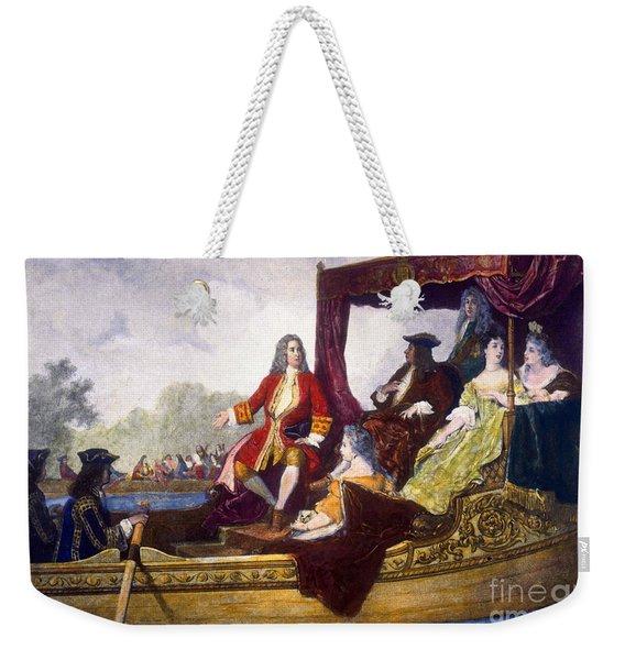 George Handel And King George I Weekender Tote Bag