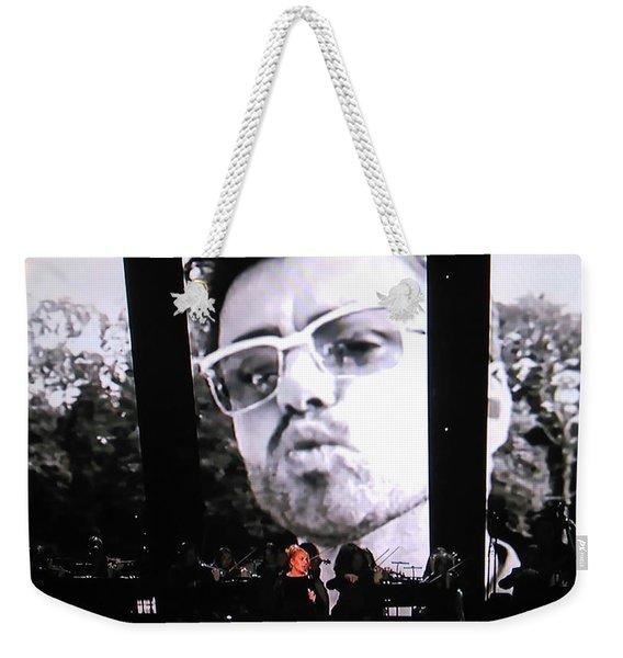 George Michael Sends A Kiss Weekender Tote Bag