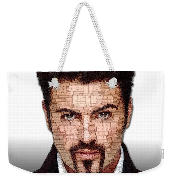 George Michael Tribute Weekender Tote Bag
