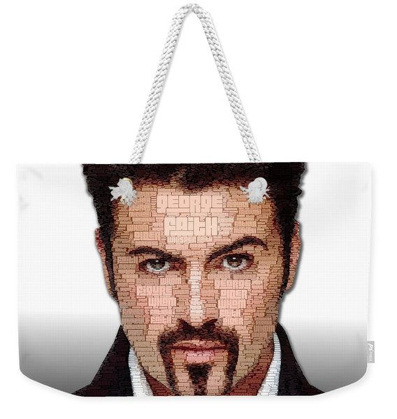 George Michael Tribute Weekender Tote Bag