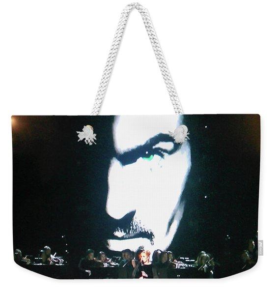 George Michael's Eye Appeal Weekender Tote Bag