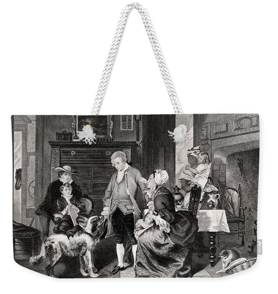 George Washington 1732 To 1799 Hears Weekender Tote Bag