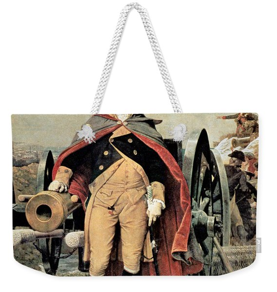 George Washington At Dorchester Heights Weekender Tote Bag
