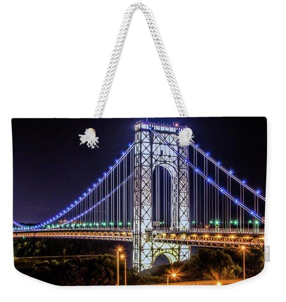 George Washington Bridge - Memorial Day 2013 Weekender Tote Bag