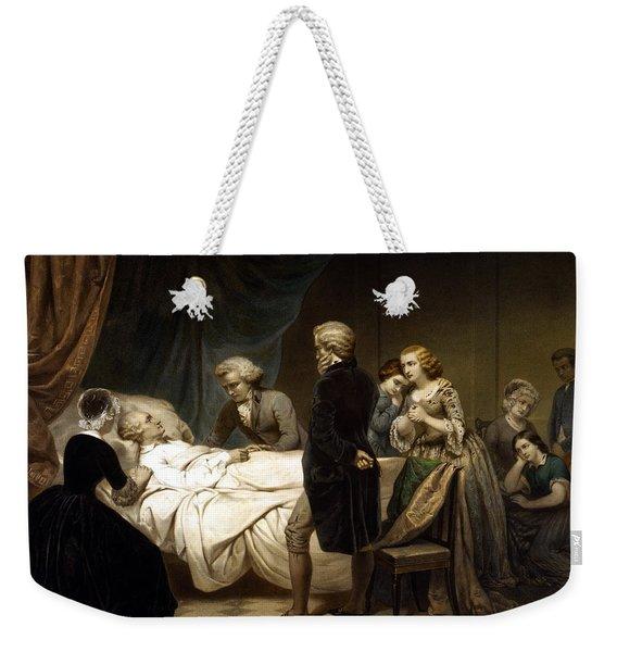 George Washington On His Deathbed Weekender Tote Bag