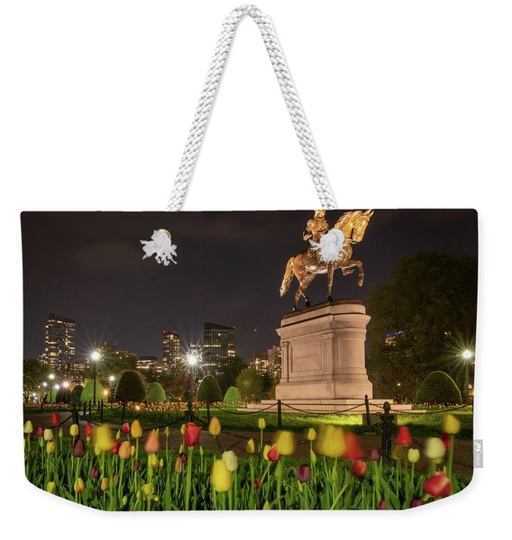 George Washington Standing Guard Weekender Tote Bag