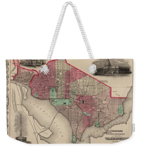Georgetown And The City Of Washington Weekender Tote Bag