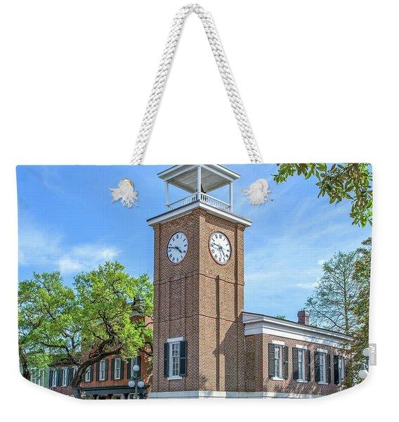 Georgetown Clock Tower Weekender Tote Bag