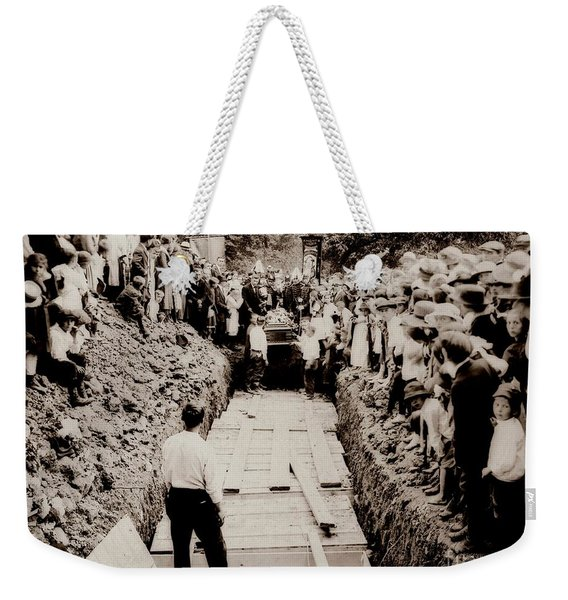 Georgetown Section Of Wilkes Barre Twp. June 5 1919 Weekender Tote Bag