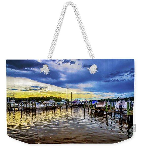 Georgetown Yacht Basin Weekender Tote Bag