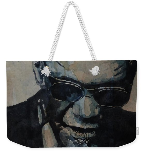 Georgia On My Mind - Ray Charles  Weekender Tote Bag