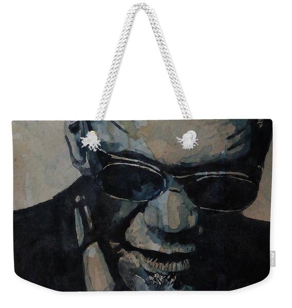 Georgia On My Mind - Ray Charles  Weekender Tote Bag