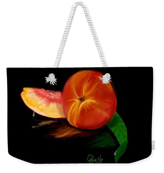 Georgia Peach Weekender Tote Bag