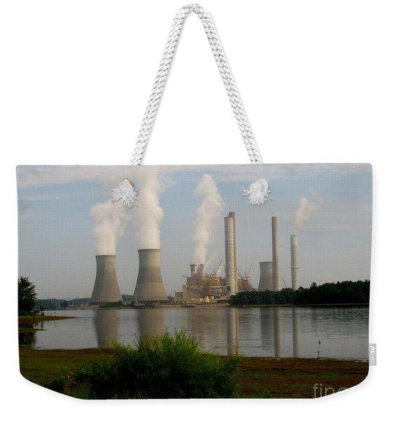 Georgia Power Plant Weekender Tote Bag