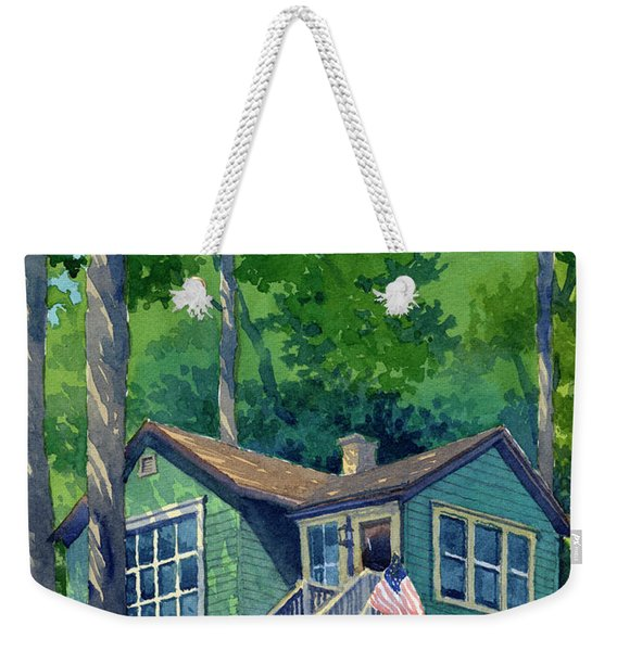 Georgia Townsend House Weekender Tote Bag