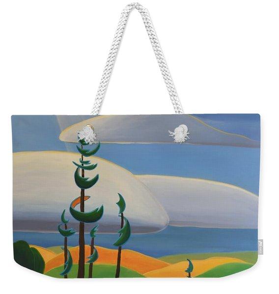 Georgian Shores - Right Panel Weekender Tote Bag