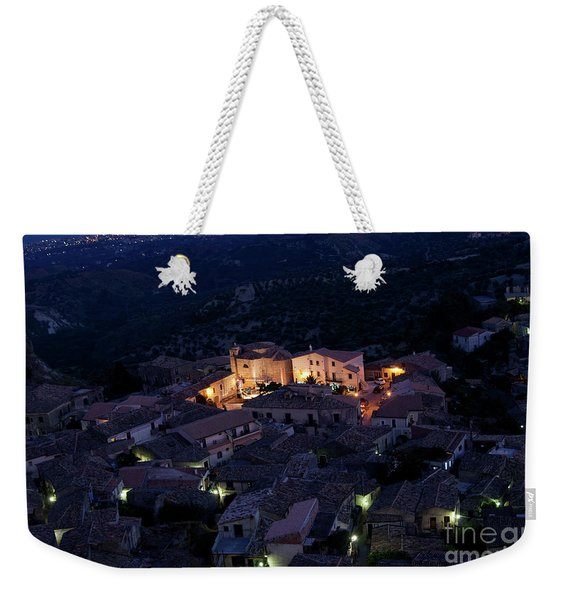 Italy, Calabria,gerace Weekender Tote Bag