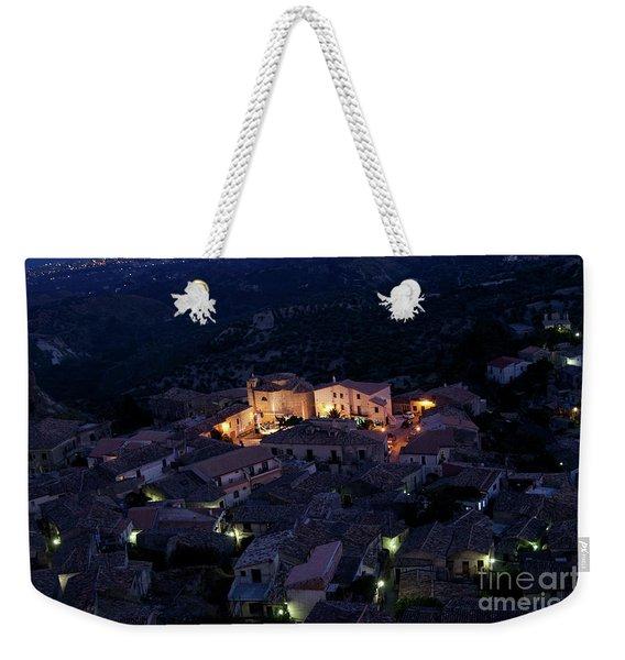 Italy, Calabria,gerace Weekender Tote Bag